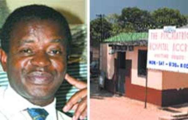 Dr.Kwesi Osei-Medical Director Accra Psychiatric Hospital